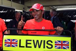 World Champion Lewis Hamilton, McLaren
