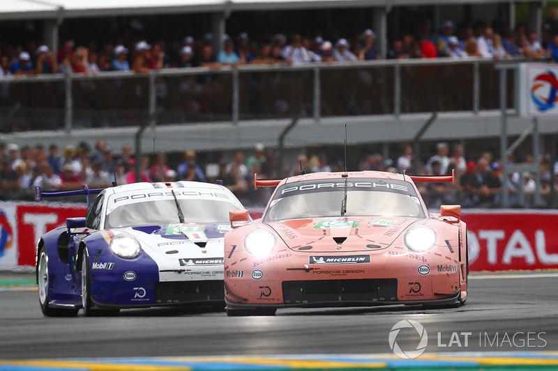 А в GTE Pro доминировали гонщики Porsche
