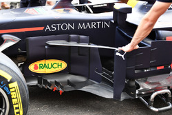 Red Bull Racing RB14 detalle de la barcaza