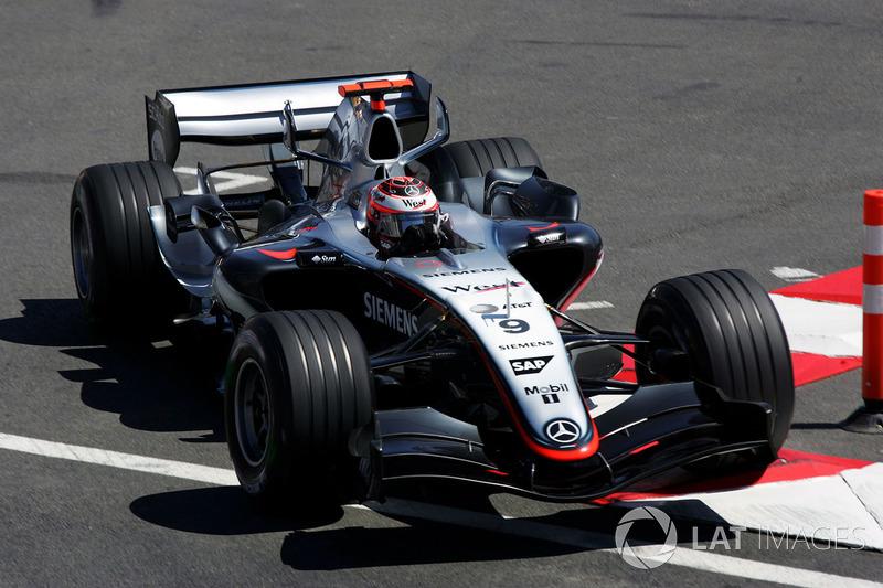 6 McLaren MP4/20 - 2005