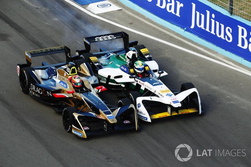Jean-Eric Vergne, Techeetah, Renault Z.E. 17, batalla con Lucas Di Grassi, Audi Sport ABT Schaeffler, Audi e-tron FE04