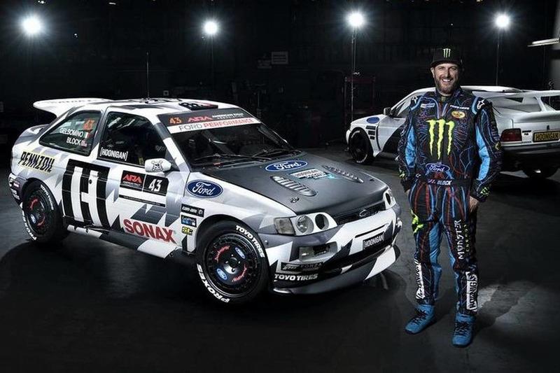 Autó Végleges formájában tündököl a Ken Block által felkarolt Ford Escort RS Cosworth