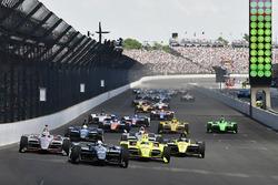 Partenza: Ed Carpenter, Ed Carpenter Racing, al comando