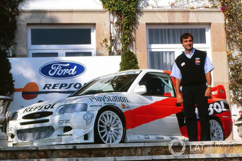 Carlos Sainz, lanzamiento Ford Escort WRC