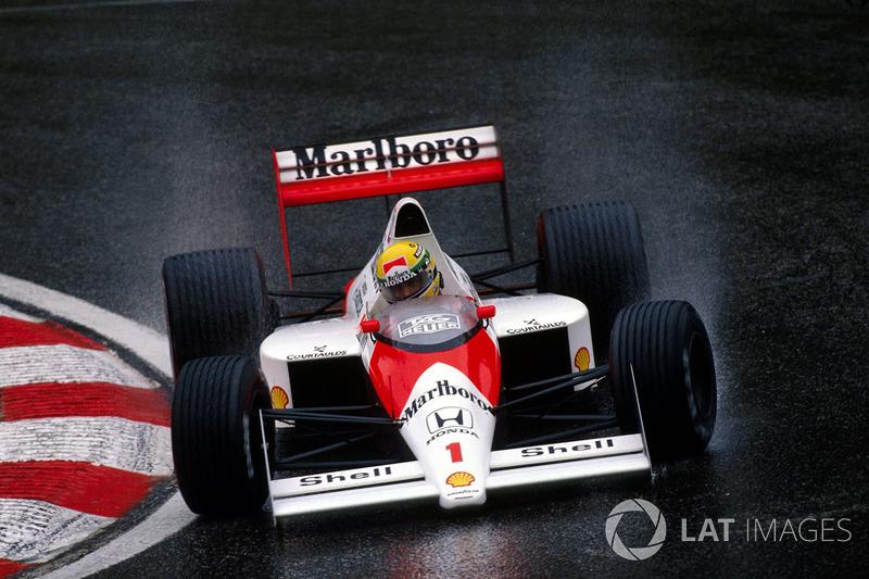 1989 Belçika: McLaren MP4/5