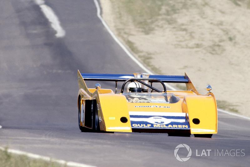 Денни Хьюм на McLaren M20 в 1972 году