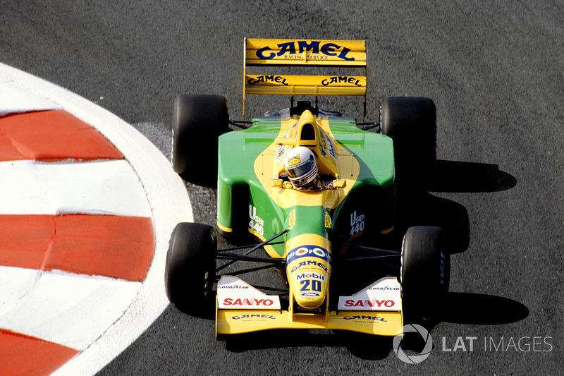 1992 – Мартін Брандл, Benetton