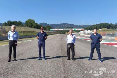 Inspection du Mugello par la FIA