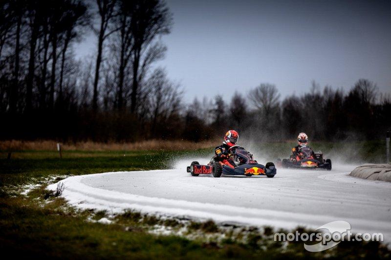 Pierre Gasly et Max Verstappen