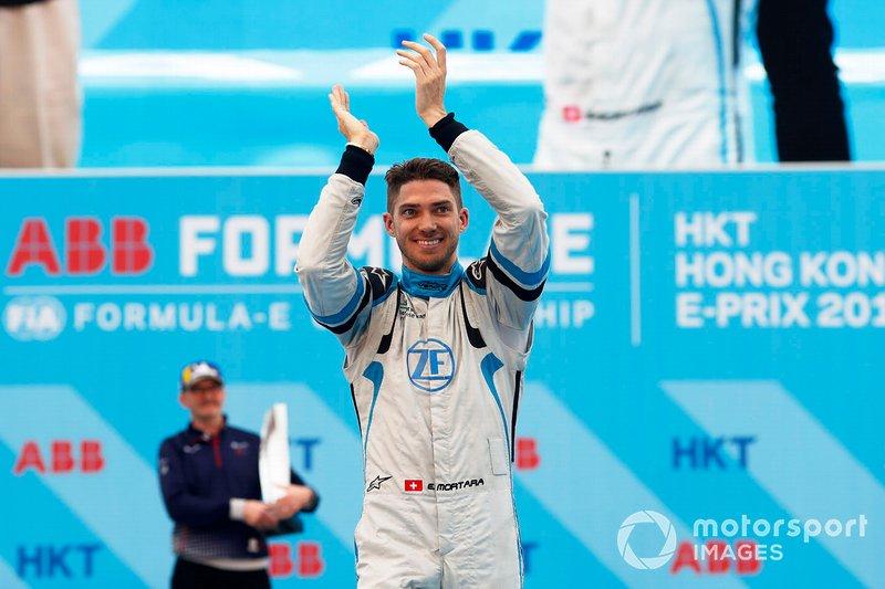 Edoardo Mortara, Venturi Formula E, celebra