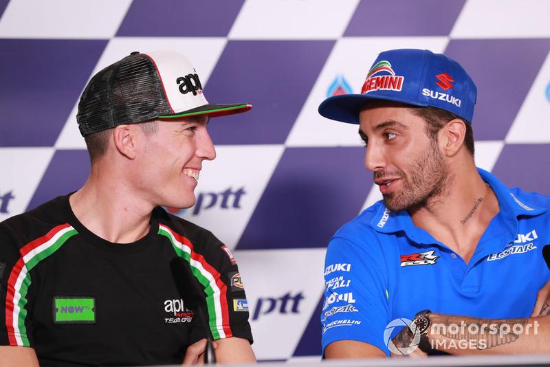Aleix Espargaro, Aprilia Racing Team Gresini, Andrea Iannone, Team Suzuki MotoGP