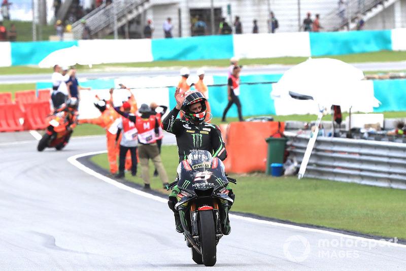 Tercer clasificado Johann Zarco, Monster Yamaha Tech 3