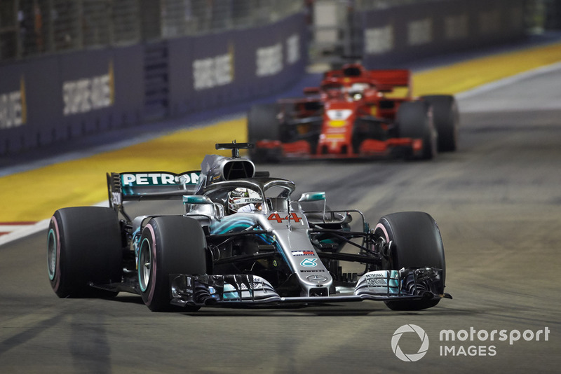 Vettel not getting tricked by Hamilton's radio comments
