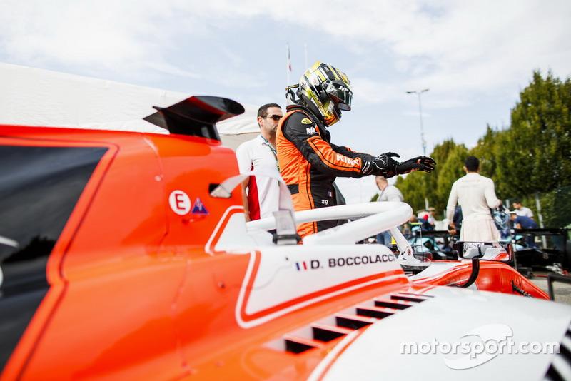 Dorian Boccolacci a été trahi par la mécanique en qualifications