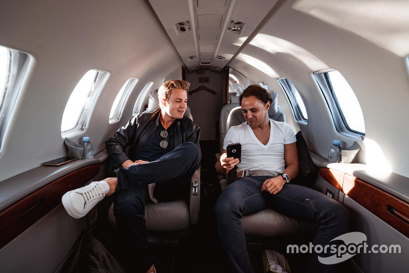 Nico Rosberg y Felipe Massa