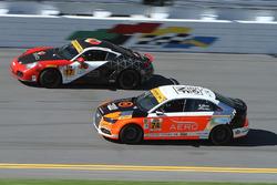 #74 Compass360 Racing Audi S3: Jim McGuire, Nico Rondet, #17 RS1 Porsche Cayman: Nick Galante, Spenc