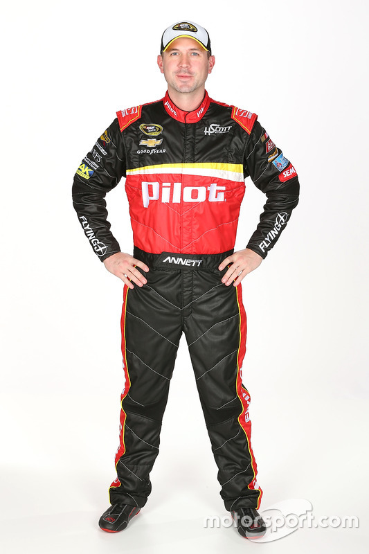 Michael Annett, HScott Motorsports Chevrolet
