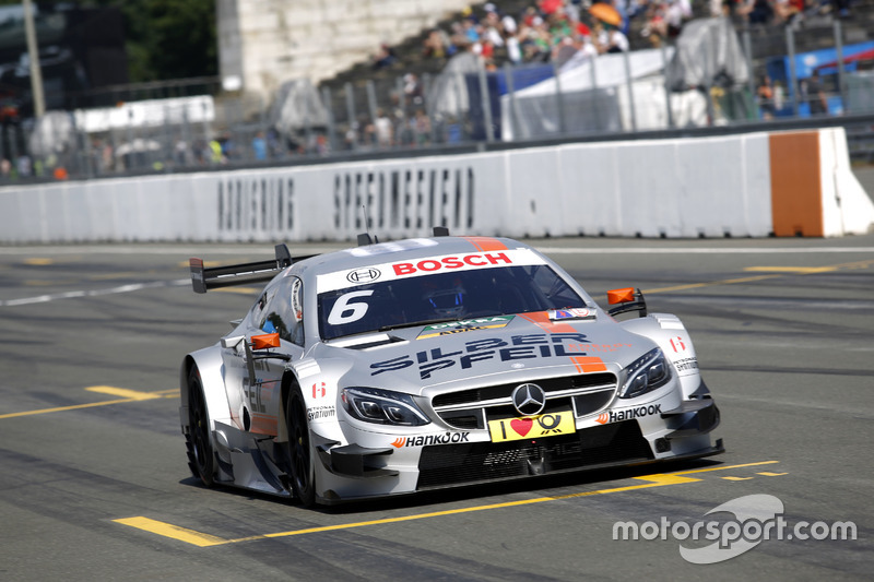 4. Robert Wickens, Mercedes-AMG Team HWA, Mercedes-AMG C63 DTM