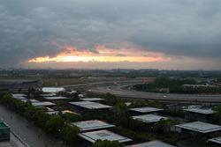 Захід сонця над Shanghai Circuit