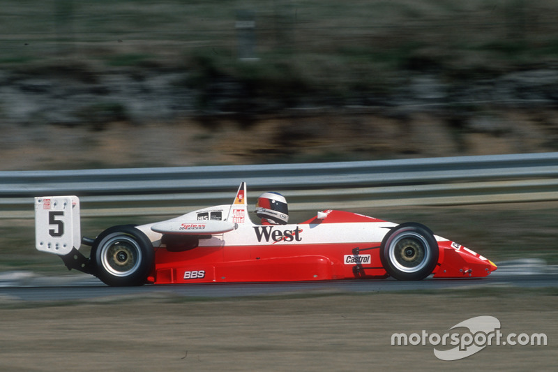 1989: Michael Schumacher es tercero.