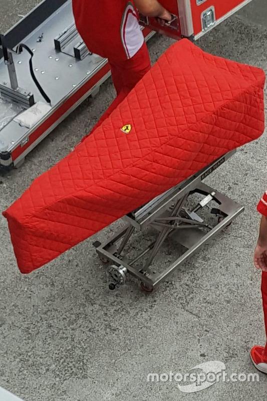 Une pièce cachée de la Ferrari SF16-H