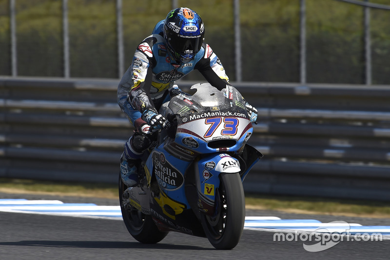 Alex Marquez, Marc VDS, nach dem Crash