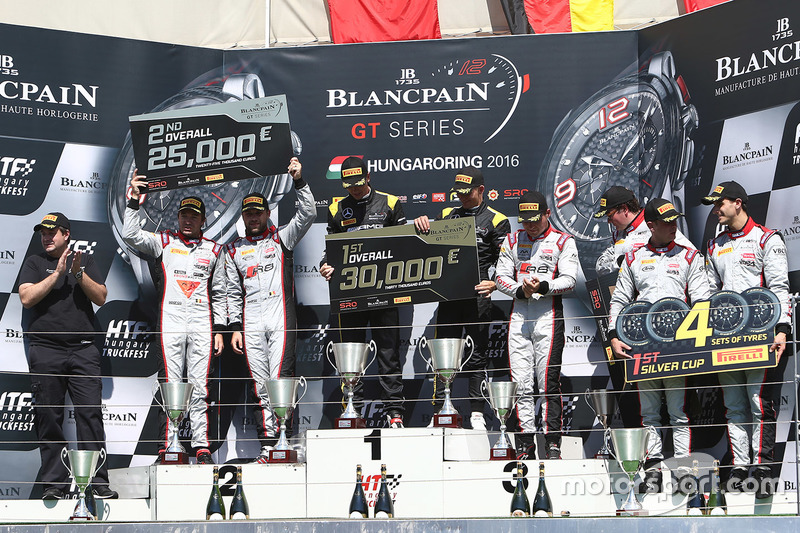Podyum: 1. Dominik Baumann, Maximilian Bühk, Team HTP Motorsport, 2. Frederic Vervisch, Laurens Vanthoor, Belgian Audi Club Team WRT, 3. Enzo Ide, Christopher Mies, Belgian Audi Club Team WRT
