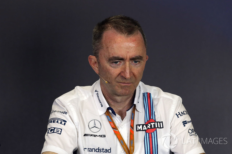Paddy Lowe, Williams Teknik Direktörü