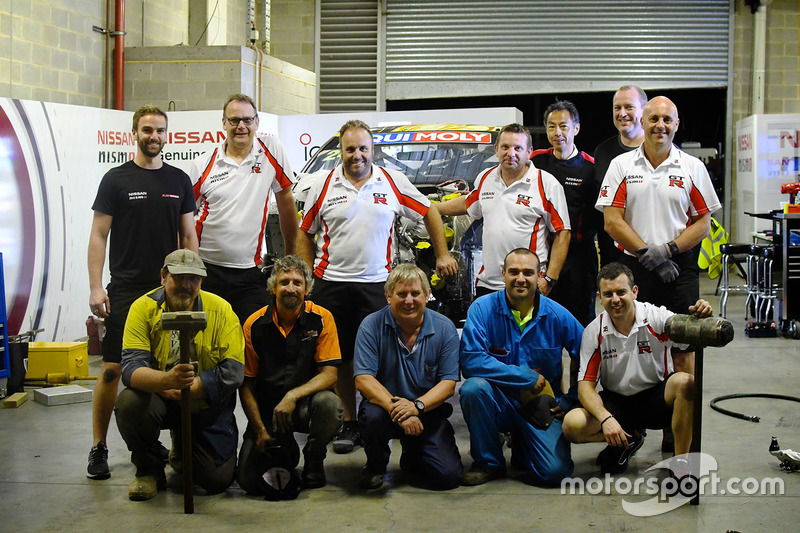 Nissan Motorsport team