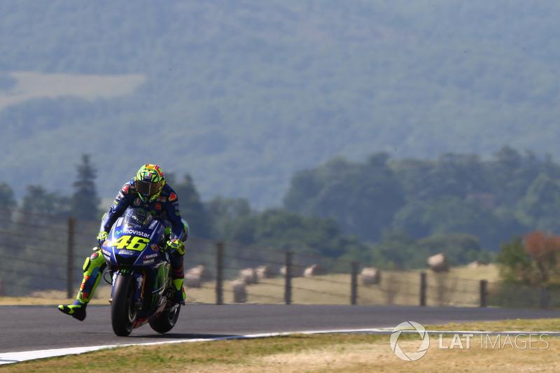12. Valentino Rossi, Yamaha Factory Racing