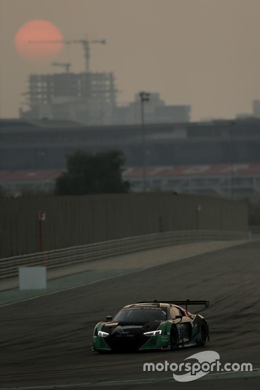 #5 Belgian Audi Club WRT Belgium, Audi R8 LMS: Mohammed Bin Saud Al Saud, Mohammed Bin Faisal Al Saud, Marcel Fässler, Michael Vergers