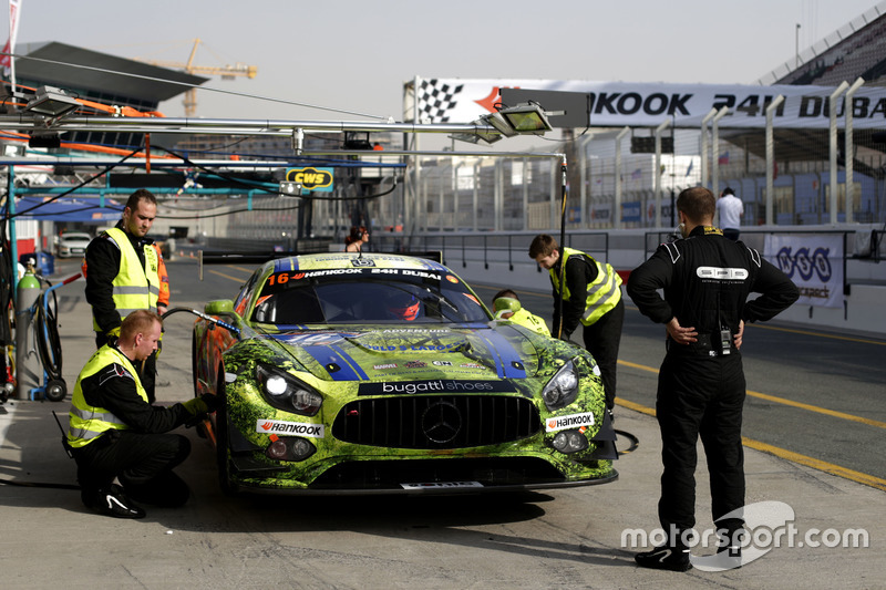 #16 SPS automotive performance Mercedes AMG GT3: Valentin Pierburg, Tim Müller, Lance-David Arnold, Tom Onslow-Cole