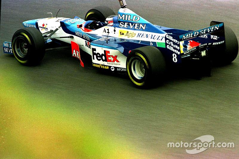 Герхард Бергер, Benetton