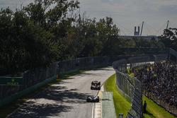 Sebastian Vettel, Ferrari SF70H; Max Verstappen, Red Bull Racing RB13; Lewis Hamilton, Mercedes AMG F1 W08