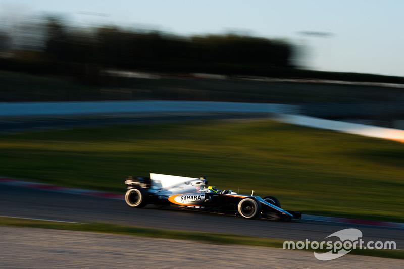 2017: Sergio Pérez, Sahara Force India F1 VJM10