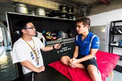 Jin Cheng interviews Lando Norris