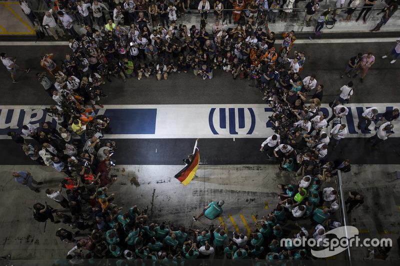 Weltmeister Nico Rosberg, Mercedes AMG F1