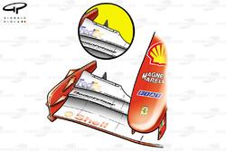 Ferrari F2001 (652) 2001 Nurburgring front wing