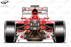 Ferrari F138 suspension dampers design