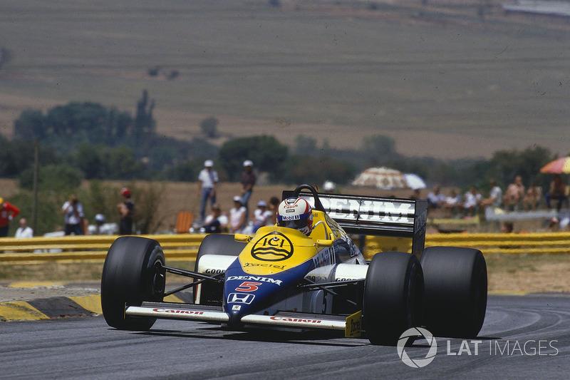 4. Найджел Мэнселл, Williams FW10, Гран При ЮАР-1985 (Кьялами): 1:02,366