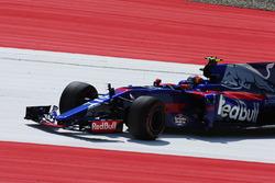 Carlos Sainz Jr., Scuderia Toro Rosso STR12 spins