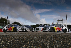 Autos von Toomas Heikkinen, EKS, Audi S1 EKS RX Quattro, Reinis Nitiss, EKS, Audi S1 EKS RX Quattro, Nico Müller, EKS, Audi S1 EKS RX Quattro, Mattias Ekström, EKS, Audi S1 EKS RX Quattro