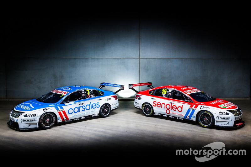 Nissan Motorsport – Todd Kelly/Jack le Brocq and Rick Kelly/David Wall