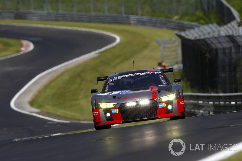 2. #9 Audi Sport Team WRT, Audi R8 LMS