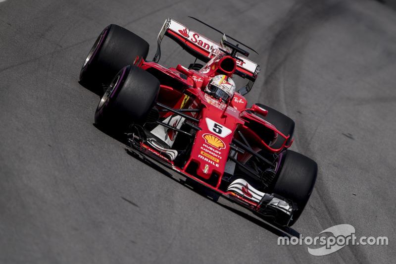 1 місце - Себастьян Феттель, Ferrari