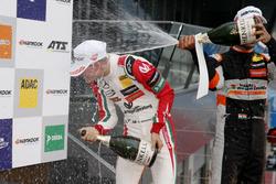 Rookie Podium: : Mick Schumacher, Prema Powerteam, Dallara F317 - Mercedes-Benz, Jehan Daruvala, Carlin, Dallara F317 - Volkswagen