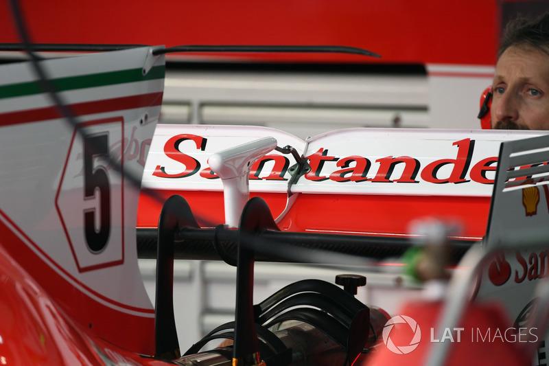 Заднє антикрило Ferrari SF70H