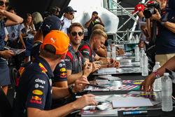 Romain Grosjean, Haas F1 Team at the autograph session