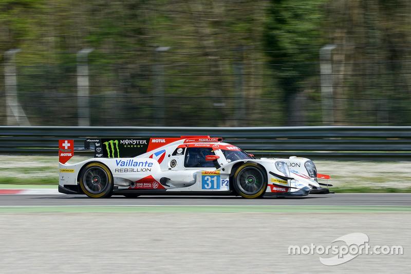#31 Vaillante Rebellion Racing Oreca 07 Gibson: Julien Canal, Bruno Senna