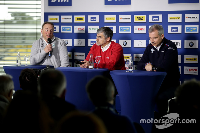 Ullrich Fritz, Team principal Mercedes-AMG HWA, Dieter Gass, Head of DTM Audi Sport, Jens Marquardt,